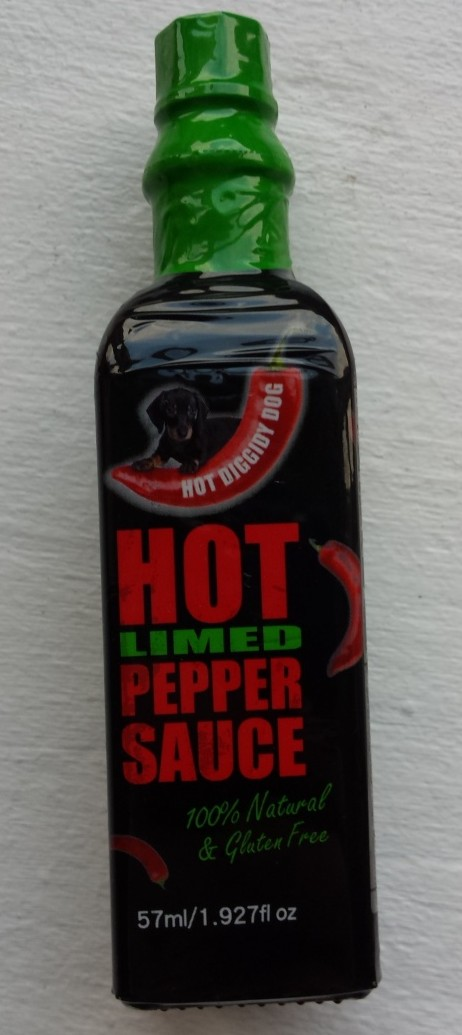 Hot Diggidy Dog Hot Limed Pepper Sauce