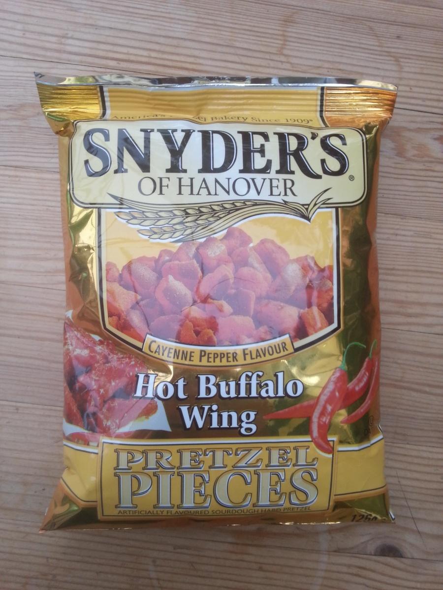 Snyder's of Hanover Hot Buffalo Wing Pretzel Pieces