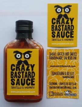 Crazy Bastard Sauce – Tomatillo & Habanero