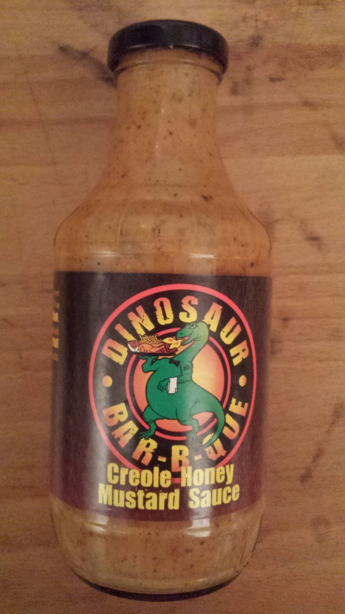 Dinosaur Bar-B-Que Creole Honey Mustard Sauce
