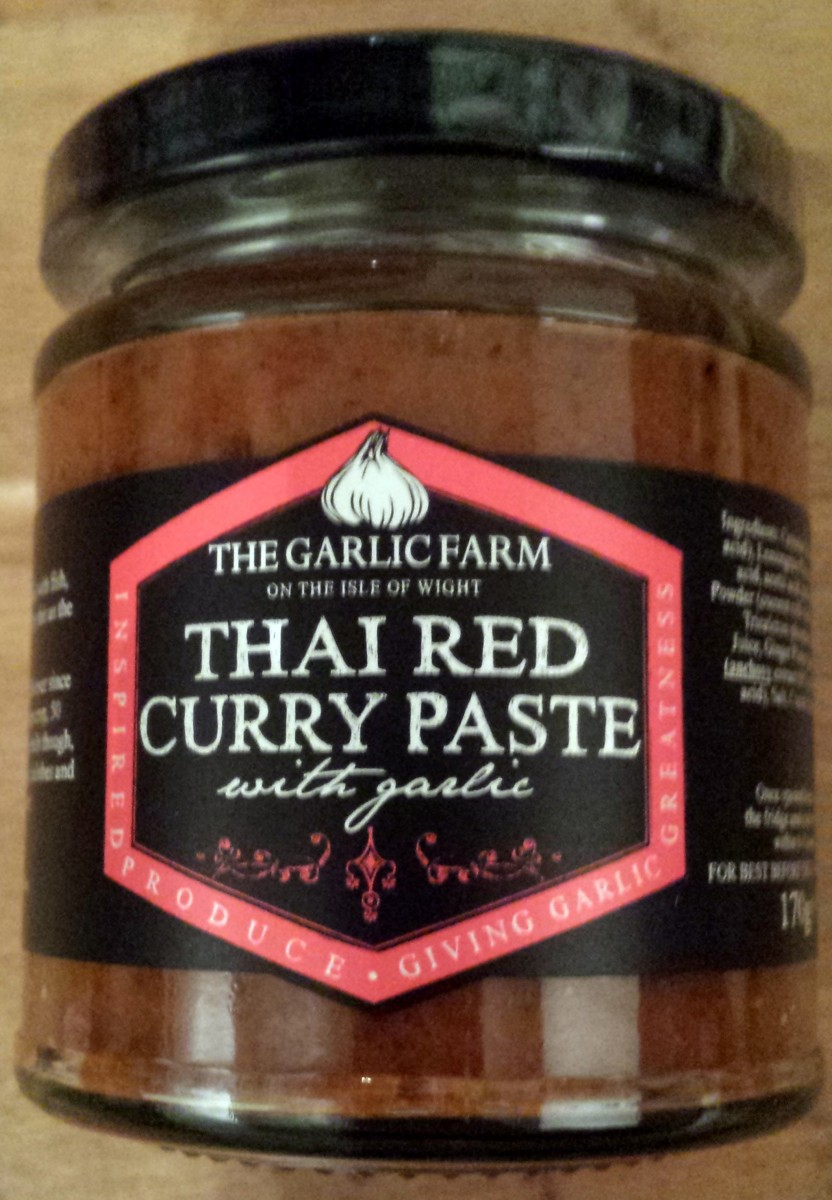 The Garlic Farm Thai Red Curry Paste Review & Recipe