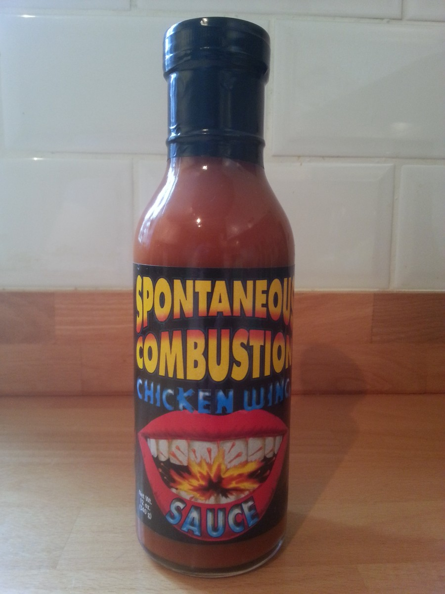 Spontaneous Combustion Chicken Wing Sauce